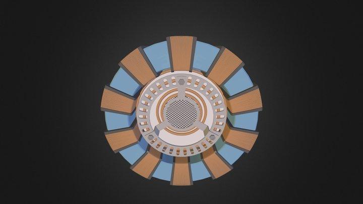Arc Reactor 3D Model