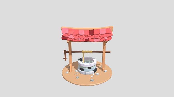 LowPolyWell 3D Model