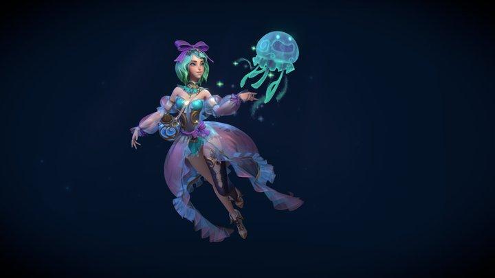 Jelly Girl 3D Model