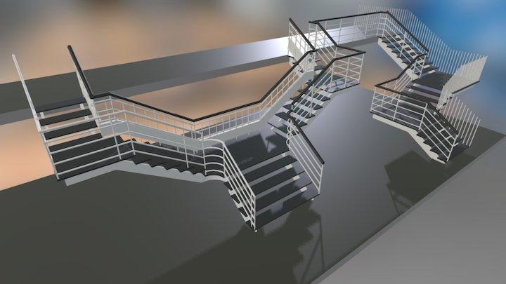 Escalera Imperial SGC 3D Model