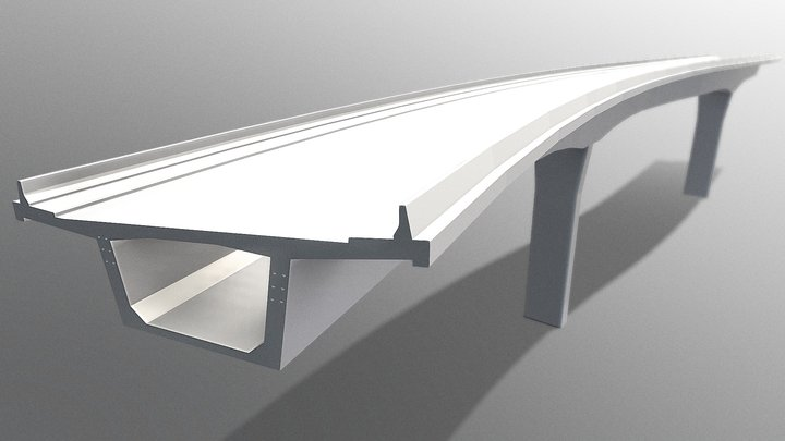 Allplan Bridge 3D Model