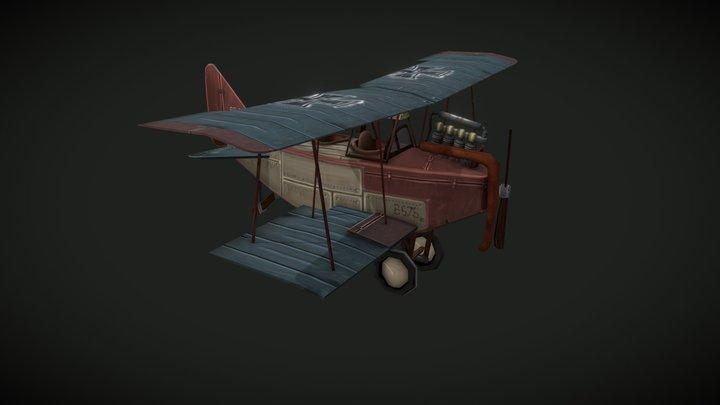Albatros b.II (early) 3D Model