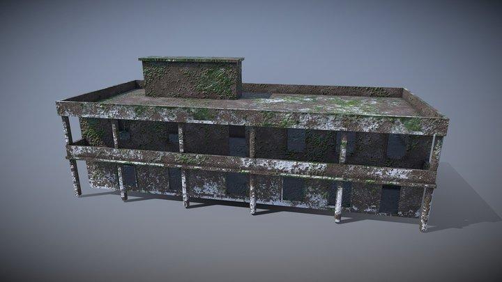 abandon building 3D Model