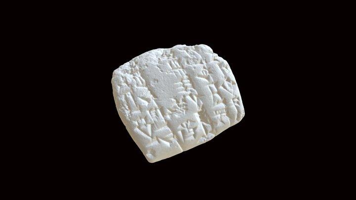 Cuneiform: Fish (36) 3D Model