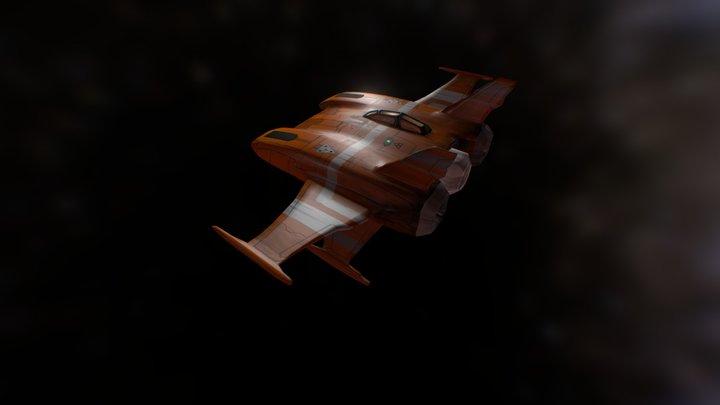 Scoutship 3D Model