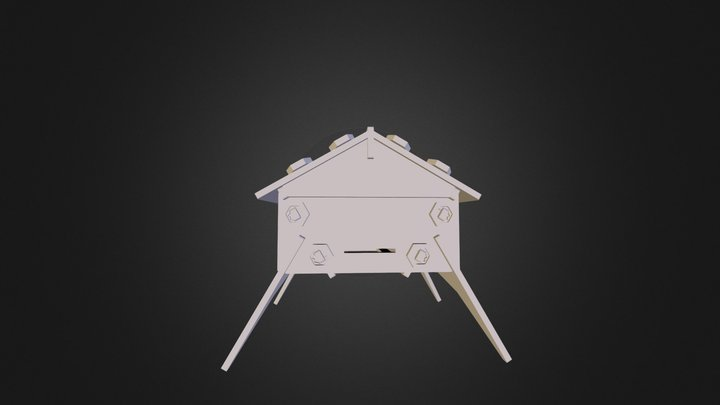 Open Tech Forever - BeeHive Prototype 2.0 3D Model