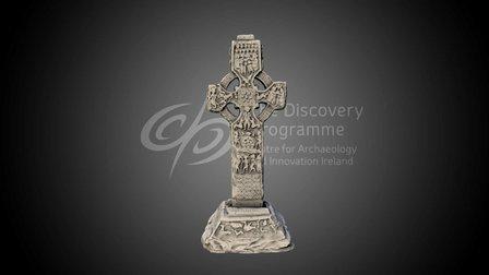 The Cross of St Patrick and St Columba, Kells 3D Model