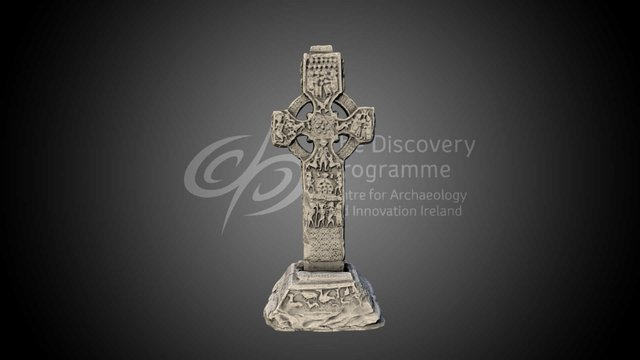 The Cross of St Patrick and St Columba, Kells 3D Model