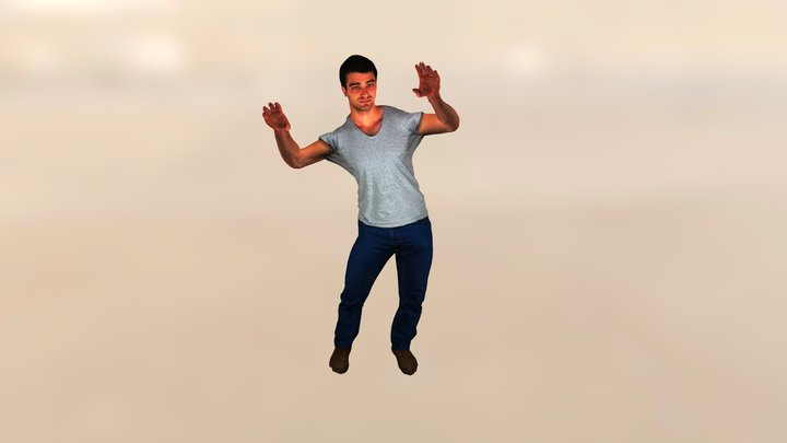Chicken Dance 3D Model