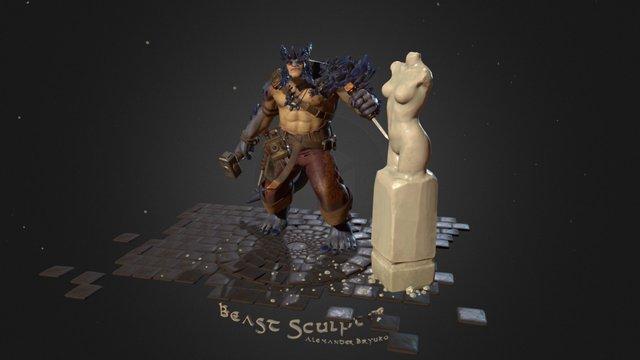 Beast Sculptor 3D Model