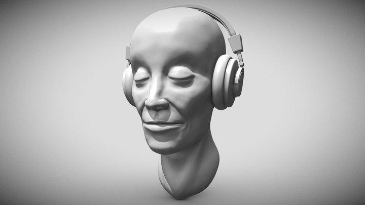 Day 14 - Beautiful Tune (Sculpt January 2021) 3D Model