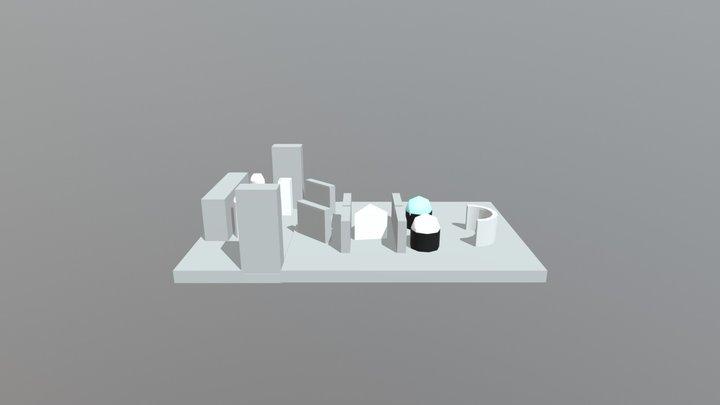 UV-Vis 3D 3D Model