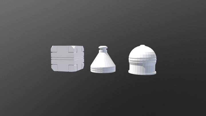Mesh Modeling Exercice 01 3D Model