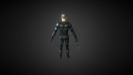 Armadura Rebelde 3D Model