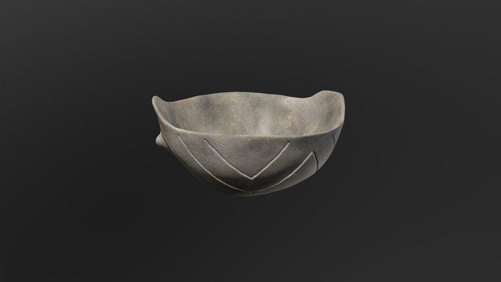 Wyciąże, Neolithic vessel reconstruction 3D Model
