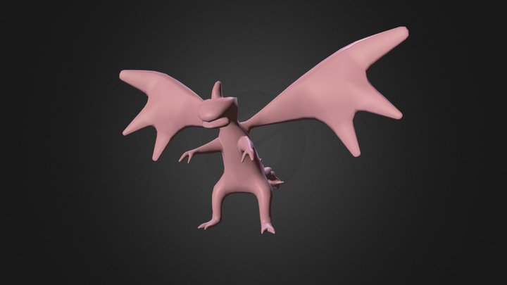 Dragon Doll 3D Model