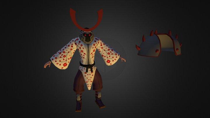 Opdracht Endboss Character 3D Model