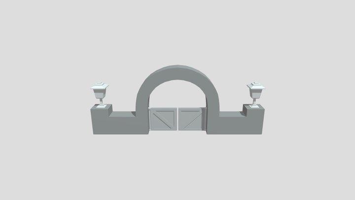 My Gate 3D Model