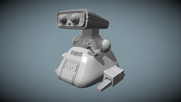 "TOMY ""Dingbot"" my robot OMS-B 3D Model"