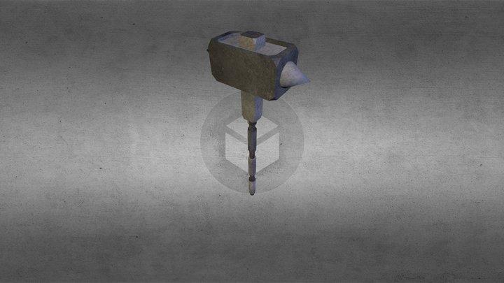 Spike Hammer 3D Model