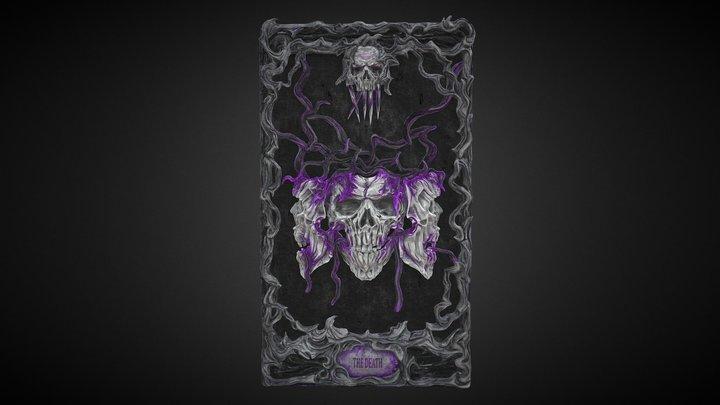 Tarot Card - The Death 3D Model
