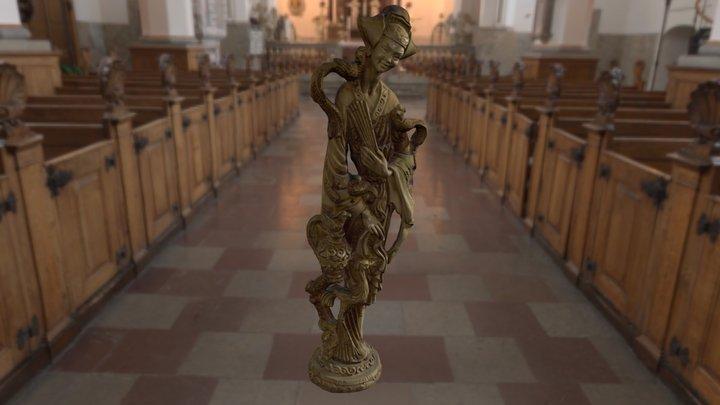 Figur  //  Statue  //  figure 3D Model
