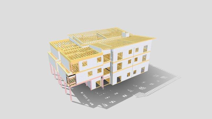 Henver Sample 3D 3D Model