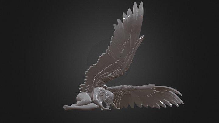 Angel caído 3D Model