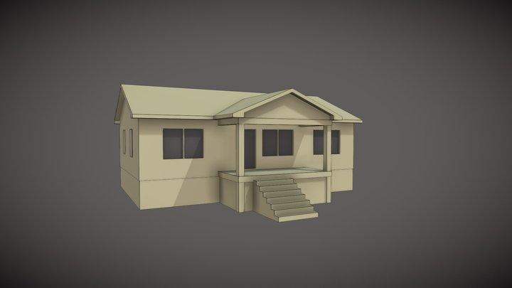 UMC-1040-Exterior 3D Model