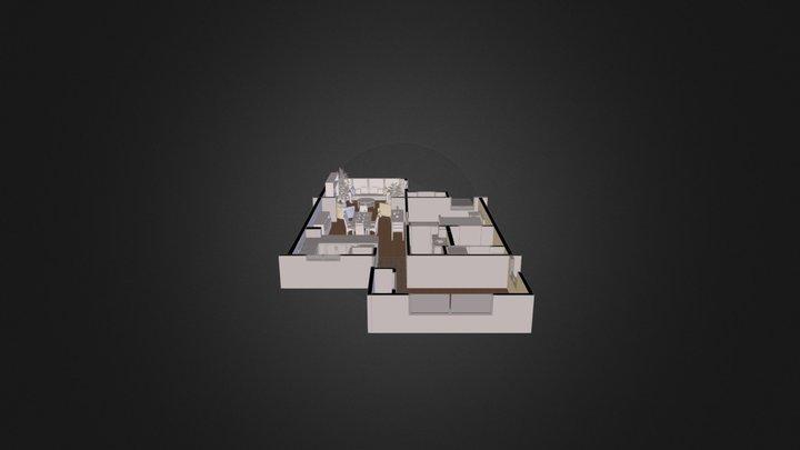 Apartment Unit 3D Model