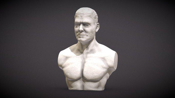 Sculpture - man anatomy 3D Model