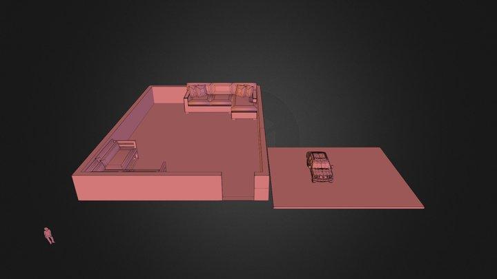 exp1.dae 3D Model