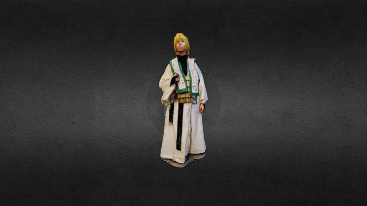 Priestess Cosplay 3D Model