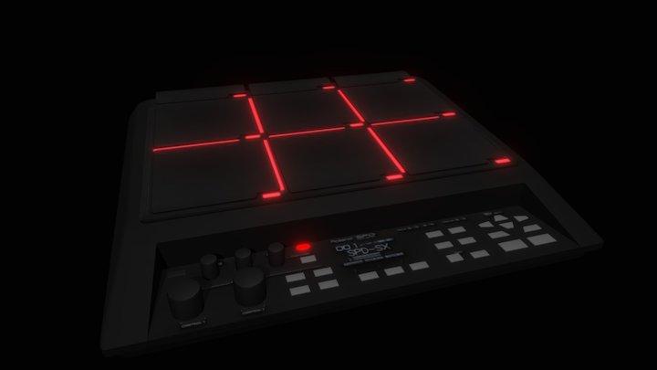 Roland SPD-SX (Porter Robinson VR) 3D Model