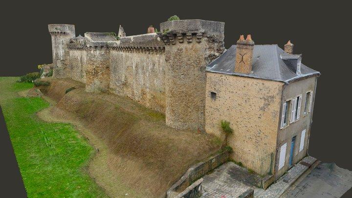 #draft Promenade Anne d'Alègre - Laval -France 3D Model