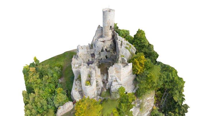 Frydstejn Castle 3D Model