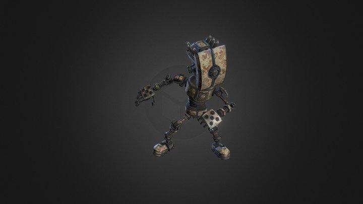 3d_coat_bot_texture_test 3D Model
