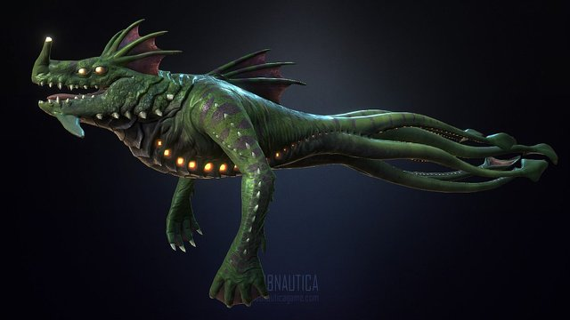 Sea Dragon 3D Model