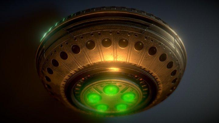 UFO Type 8 3D Model