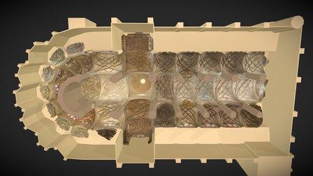 Catedral de Segovia 3D Model