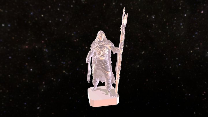 King Khadrius Zhoth 3D Model