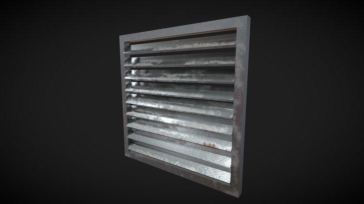Old vent 3D Model