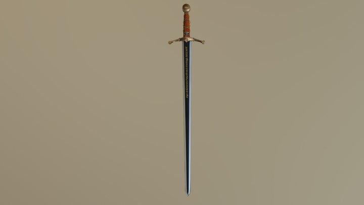 Basic_Sword 3D Model