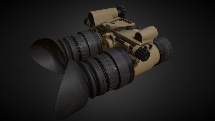 AB NightVision Goggle 3D Model
