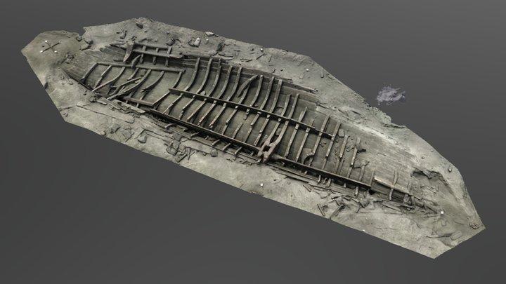 Das Große Schiff von Wismar 3D Model