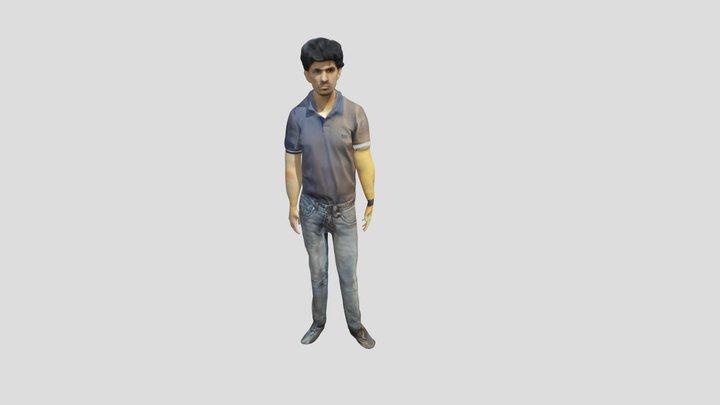 Welcome handshake 3D Model