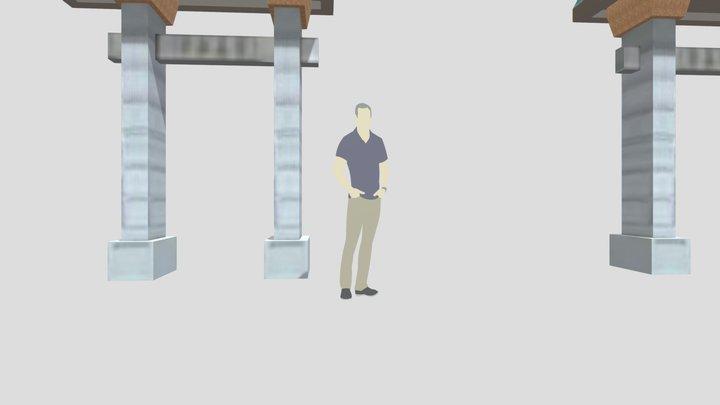 Chinatown Gate 3D Model