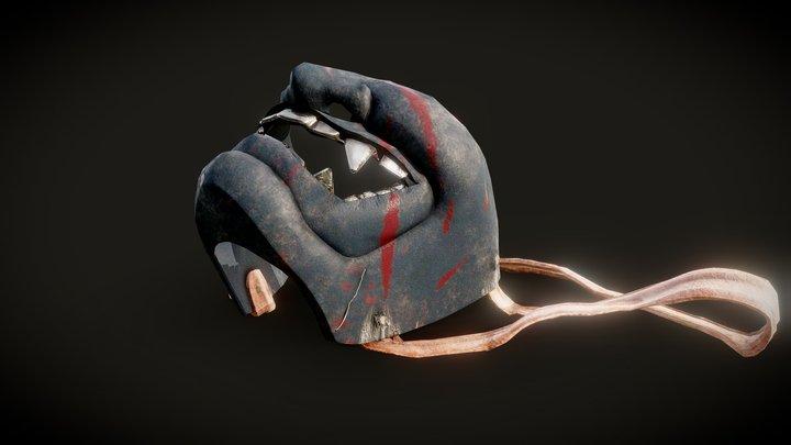 Samurai Mask Game Res-Updated 3D Model