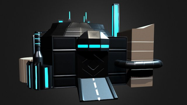 Building001 3D Model