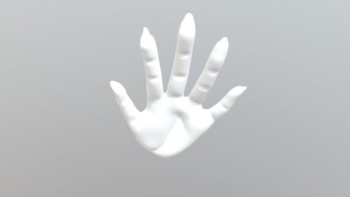 Female Hand 3D Model